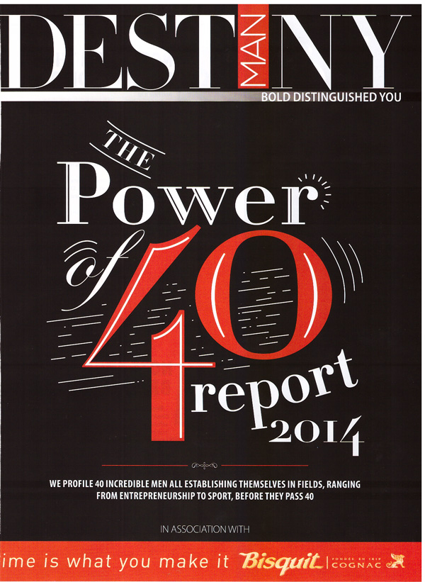 Destiny Man - The power of 40 report 2014